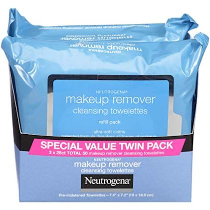 makeup remove wipes in packages twin pack