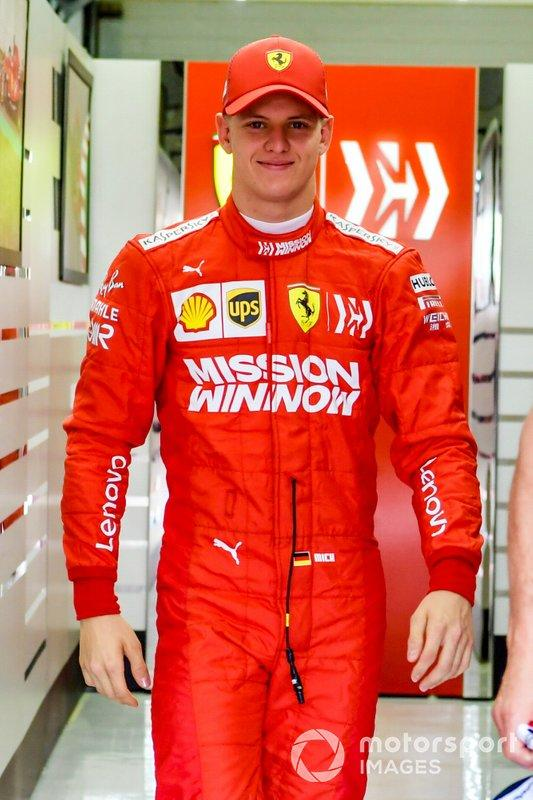 "Mick Schumacher, Ferrari <span class=""copyright"">Jerry Andre / Motorsport Images</span>"