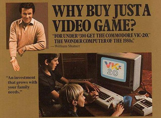 Computer advertising began to focus on boys in the 1980s. Commodore Computers ad