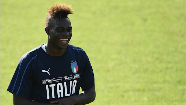 After incurring the wrath of new coach Vieira for missing training, the Italy star has now rejoined his club in pre-season as his future lies in doubt