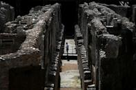 The hypogeum gradually became covered by centuries-worth of rubble until being dug out in the 19th century