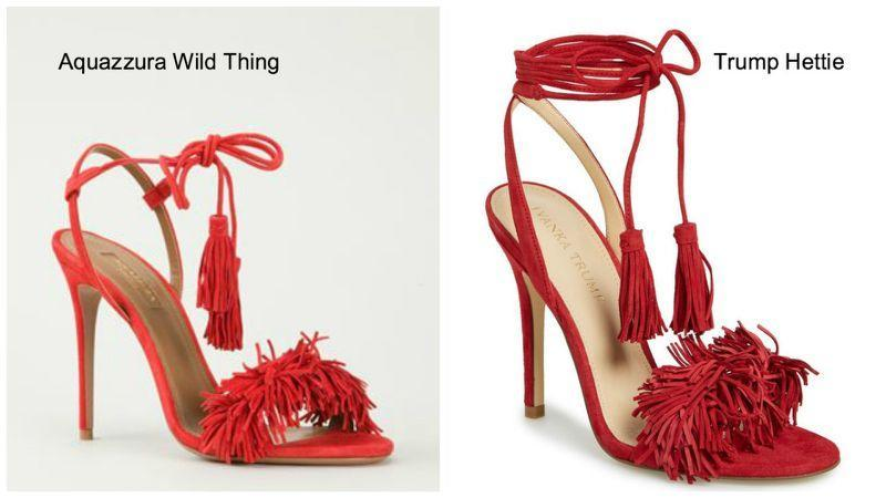 Photos: Courtesy of Farfetch.com, left, and Pinterest, right