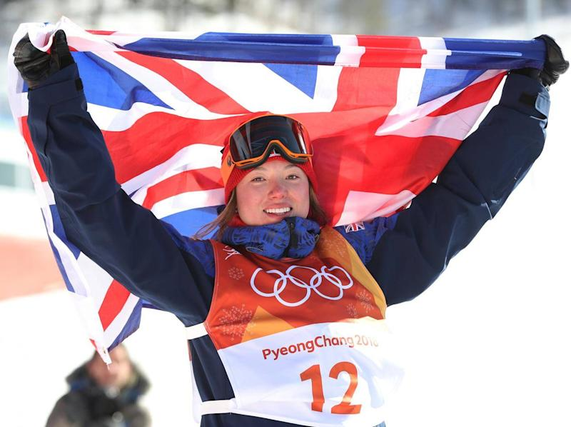 Atkin made Team GB Winter Olympics history (Getty)