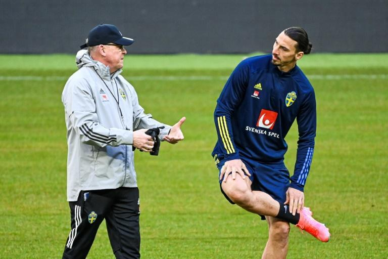 Zlatan Ibrahimovic's absence through injury is a blow to Sweden coach Janne Andersson
