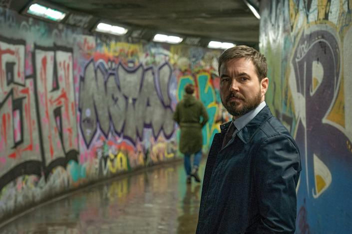WARNING: Embargoed for publication until 00:00:01 on 23/03/2021 - Programme Name: Line of Duty S6 - TX: n/a - Episode: Line Of Duty - Ep 2 (No. n/a) - Picture Shows: *NOT FOR PUBLICATION UNTIL TUESDAY 23RD MARCH, 2021* DI Kate Fleming (VICKY MCCLURE), DS Steve Arnott (MARTIN COMPSTON) - (C) World Productions - Photographer: Chris Barr