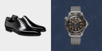"""<p>James Bond wouldn't be caught dead buying most James Bond merch. It's almost uniformly naff – all tuxedo t-shirts and golden gun cigar lighters that'll have you pinned to the station floor faster than you can scream """"see it, say it, sorted"""".</p><p>But in the wake of No Time To Die, the 007 merch machine has gone into overdrive, moving away from the usual stuff and ushering in seriously cool, elegant, international-spy-worthy stuff that Daniel Craig actually wore in the movie. You've long been able to buy James Bond's watch, his car and his beer (cheers, Heineken), but now you can wear his driving gloves, his knitwear, his combat boots and even the trousers he wears to invade a secret island. Bond has got much cooler over recent years, and now his disciples can up their style game, too. </p>"""