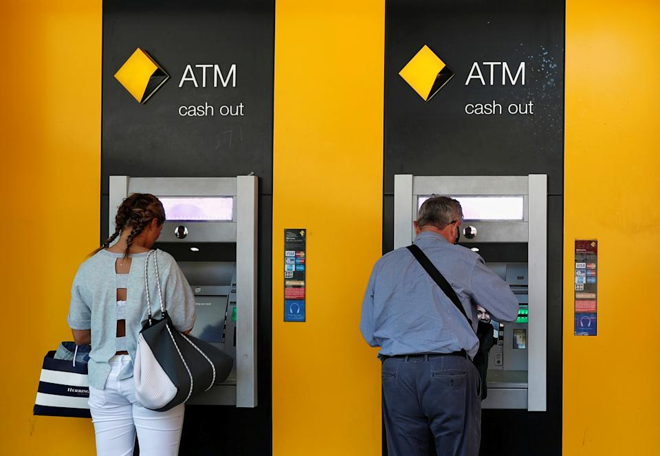 Some people who visited Commonwealth Bank at the Roselands Shopping Centre are considered close contacts. Source: AAP