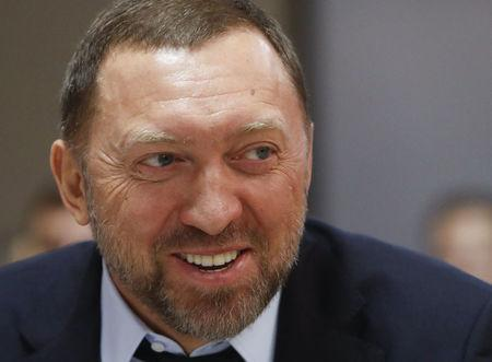 FILE PHOTO:President of En+ Group, Oleg Deripaska, attends an agreement signing ceremony in Moscow