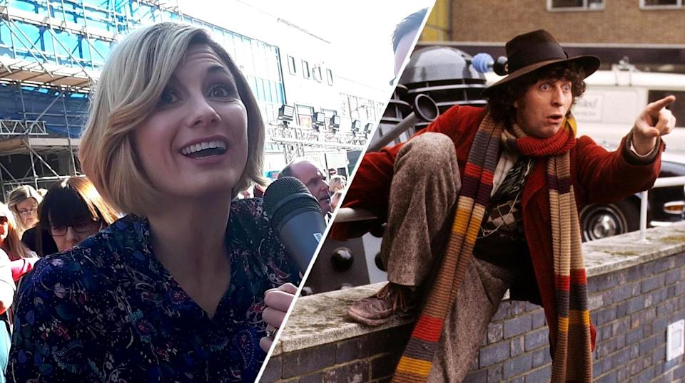 Jodie Whittaker, the 13th Doctor, shares her plan for a massive <i>Doctor Who</i> marathon, once she's finished in the role (BBC)