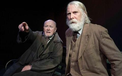 Niall Buggy (left) and David Threlfall in The Old Tune - Credit: Alastair Muir