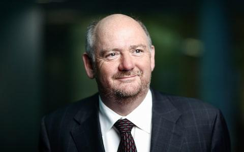 Richard Cousins, chief executive officer of Compass Group Plc, poses for a photograph following a Bloomberg Television interview - Credit: Simon Dawson/Bloomberg News