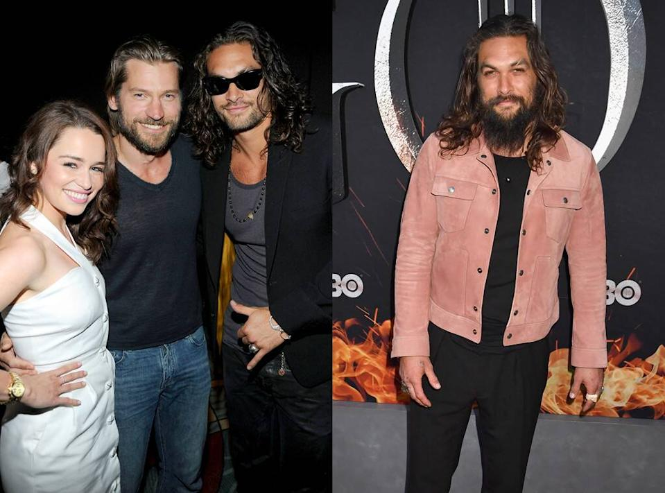 Jason Momoa, Game of Thrones, Now and Then