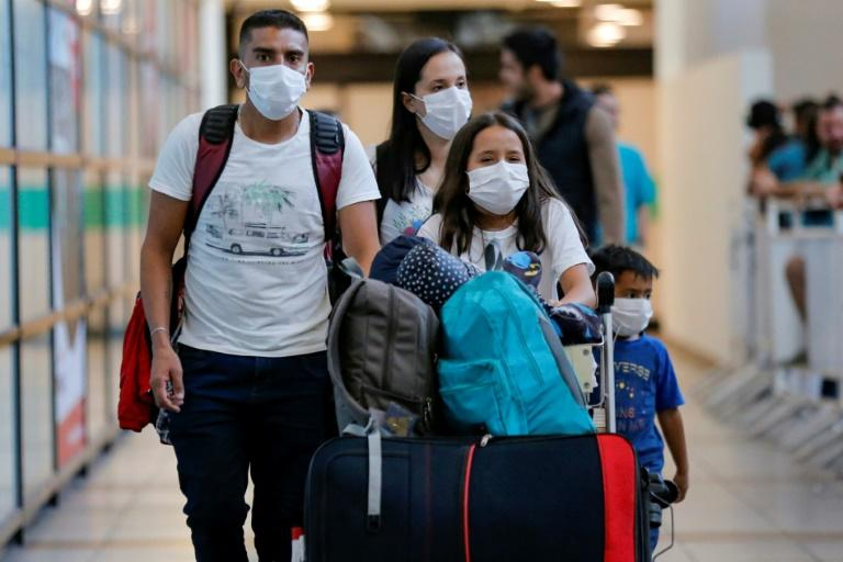 The vast majority of virus cases have been in China, but South Korea, Italy and Iran have also emerged as hotspots and it has spread into Latin America and Africa (AFP Photo/JAVIER TORRES)
