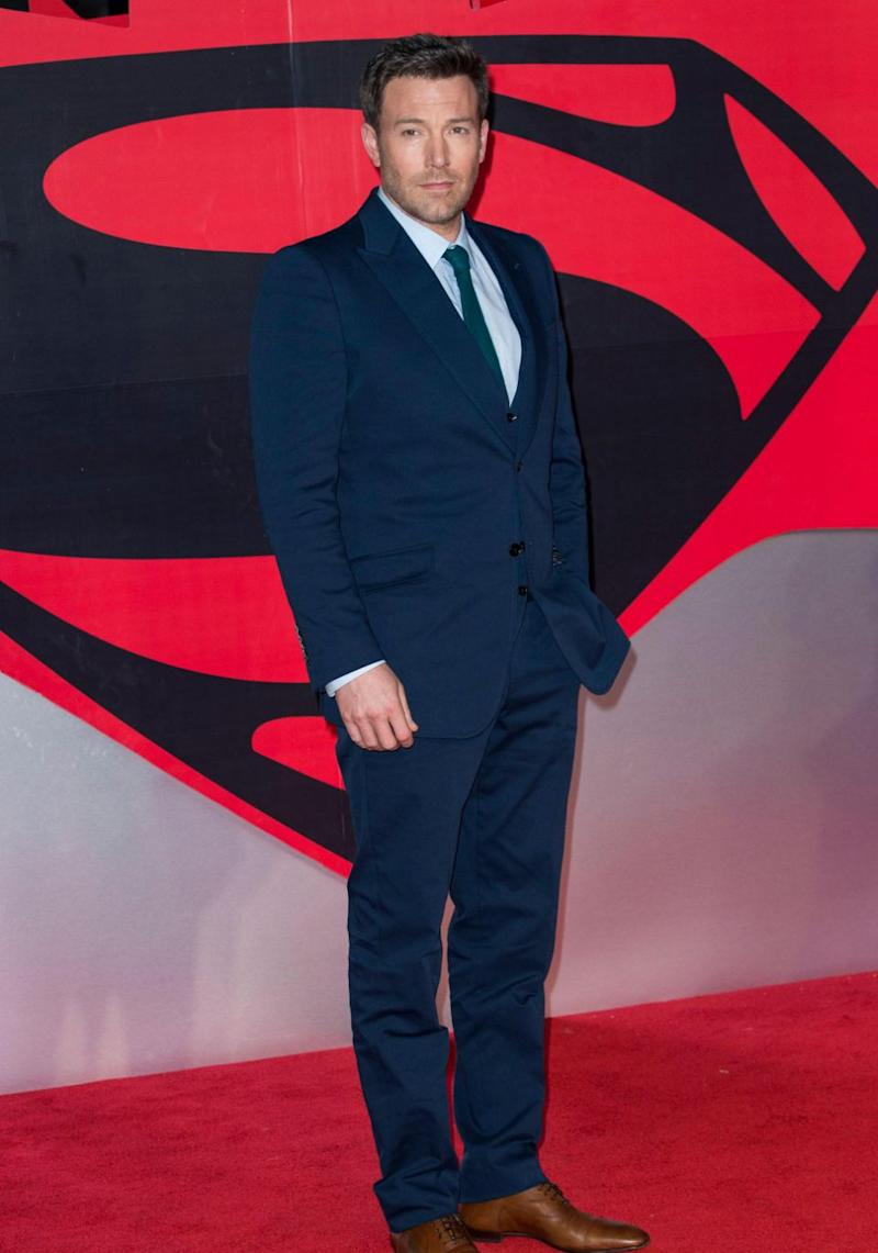 Ben Affleck's film Batman v Superman: Dawn of Justice has landed eight Razzies nominations. Source: Getty