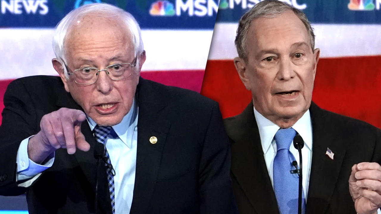 'Cheap shot': Sanders fires back when Bloomberg goes after 'socialism'