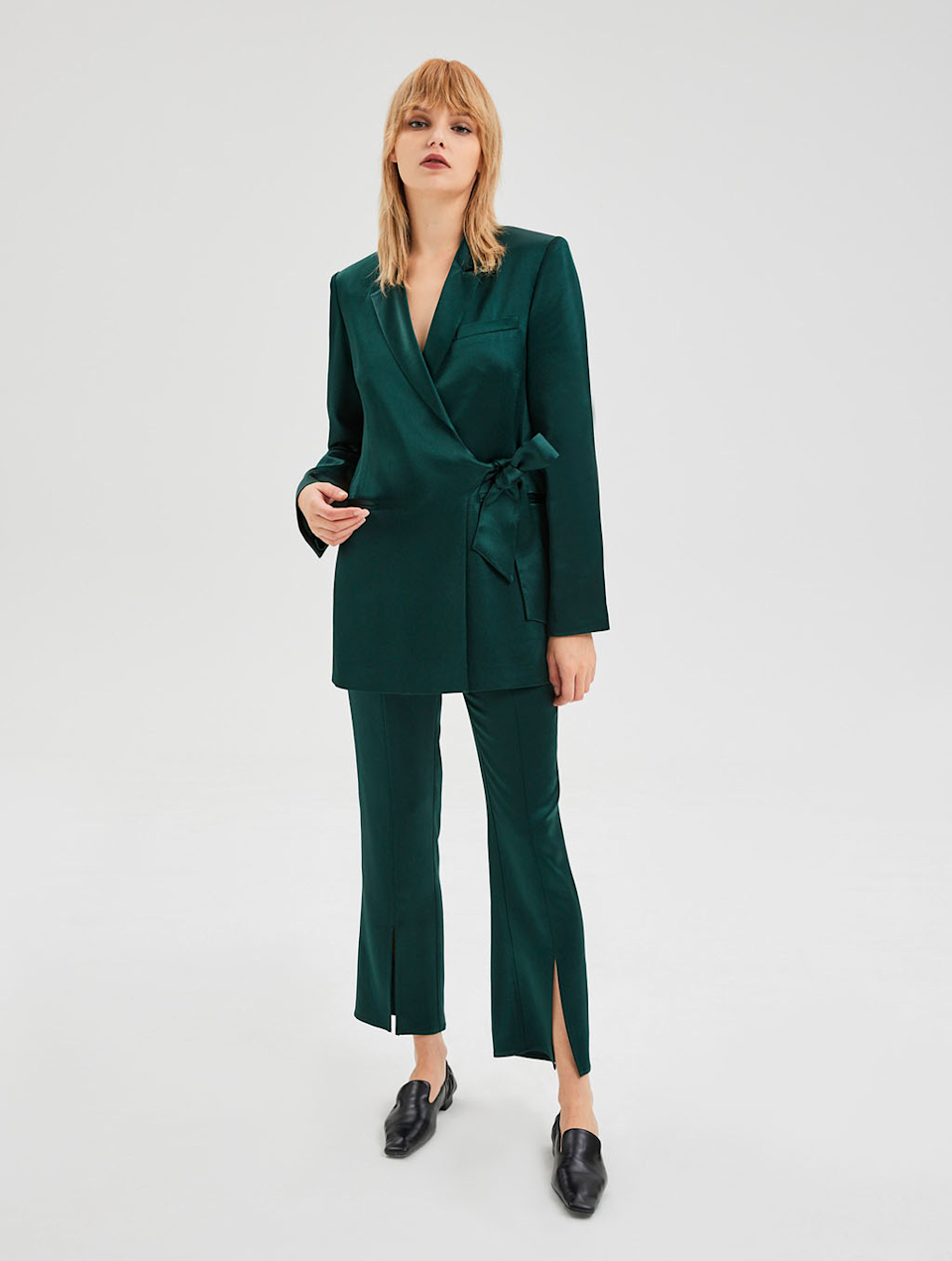 """<h2>Lattelier Tie-Waist Blazer & Front Slit Trousers Matching Suit</h2><br>""""When it comes to dressing up, I prefer pantsuits over dresses, hands down. One of my childhood pals is getting married this fall and I plan on wearing this two-piece suited number to his ceremony. Plus, a suit is such a wardrobe expander because it's like scoring a twofer deal when you wear them as separates: the blazer can be worn anytime as a lightweight jacket and the trousers can sub in for any pair of jeans if I'm trying to look fancier."""" <em>– Jinnie Lee, Freelance Fashion Writer</em><br><br><em>Shop <a href=""""https://lattelierstore.com/"""" rel=""""nofollow noopener"""" target=""""_blank"""" data-ylk=""""slk:Lattelier"""" class=""""link rapid-noclick-resp"""">Lattelier</a></em><br><br><strong>Lattelier</strong> Tie-Waist Blazer, $, available at <a href=""""https://go.skimresources.com/?id=30283X879131&url=https%3A%2F%2Flattelierstore.com%2Fproduct%2Ftie-waist-blazer%2F"""" rel=""""nofollow noopener"""" target=""""_blank"""" data-ylk=""""slk:Lattelier"""" class=""""link rapid-noclick-resp"""">Lattelier</a><br><br><strong>Lattelier</strong> Front Slit Trousers, $, available at <a href=""""https://go.skimresources.com/?id=30283X879131&url=https%3A%2F%2Flattelierstore.com%2Fproduct%2Ffront-slit-trousers%2F"""" rel=""""nofollow noopener"""" target=""""_blank"""" data-ylk=""""slk:Lattelier"""" class=""""link rapid-noclick-resp"""">Lattelier</a>"""