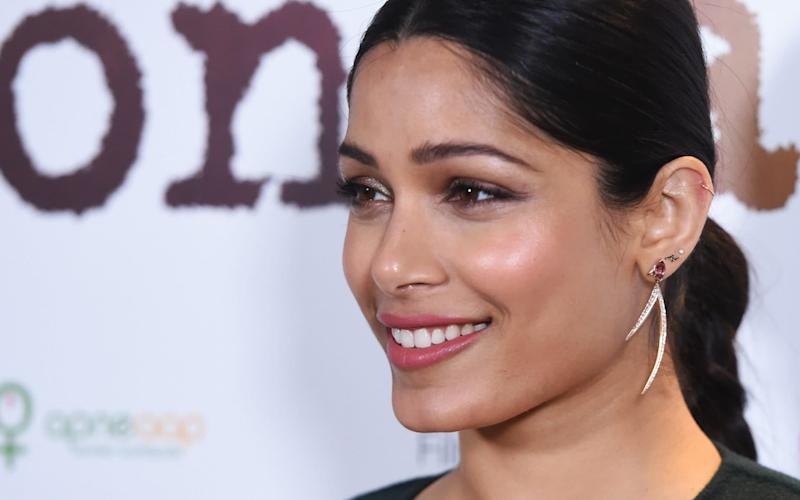 Freida Pinto at the UK premiere of 'Love Sonia' in London - Getty Images Europe