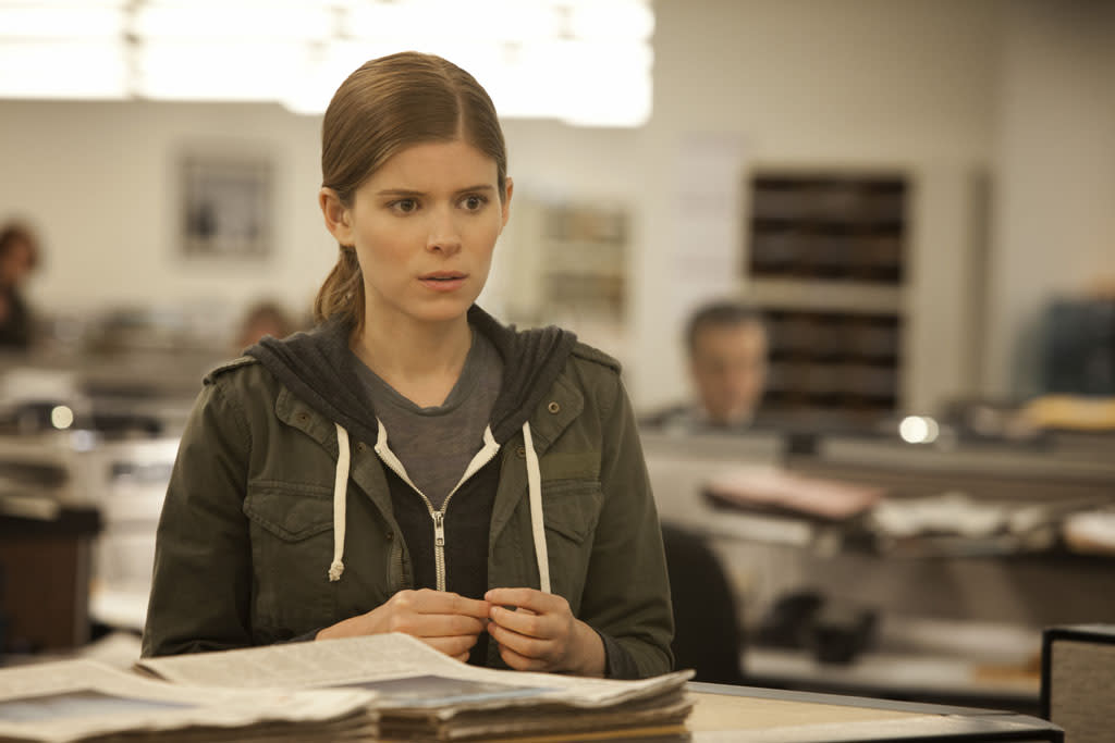 "Kate Mara in the ""House of Cards"" Season 1 episode, ""Chapter 1."""