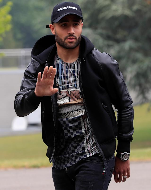 Soccer Football - FIFA World Cup - France Training - Domaine de Montjoye, Clairefontaine, France - May 23, 2018 France's Nabil Fekir arrives REUTERS/Gonzalo Fuentes