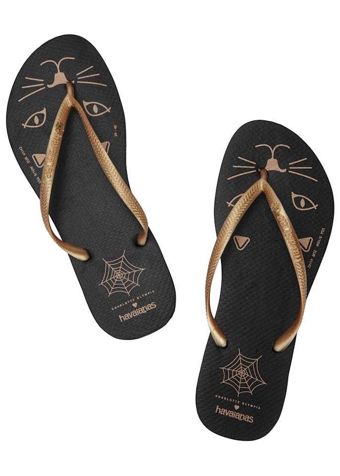 "<p>Yes, we know it's a bit early to be getting out the flip flops but how can we resist these beauts? Snap them up before they're gone. </p><p><a href=""http://www.harveynichols.com/151373-x-havaianas-kitty-printed-flip-flops/?istCompanyId=c721e458-728e-4a28-bc83-6a1d2abf7708&istItemId=aitxxiama&istBid=tzpt&_%24ja=tsid:73439%7ccid:311910153%7cagid:26979901953%7ctid:pla-186829265793%7ccrid:84482933433%7cnw:g%7crnd:16475156909522688791%7cdvc:c%7cadp:1o2&gclid=CJT34ZmnzcwCFUefGwod1TkHZA&gclsrc=aw.ds"">Buy it here. </a></p>"