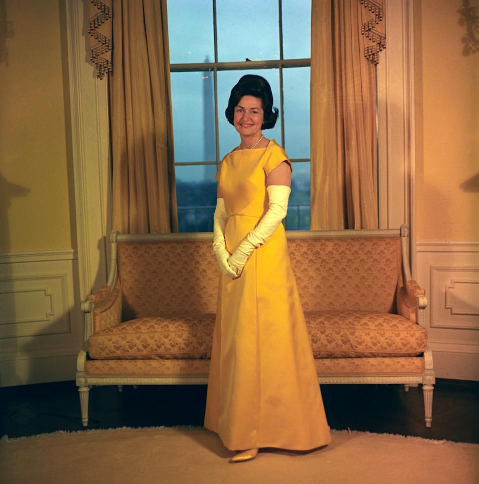 lady bird johnson inauguration 1965