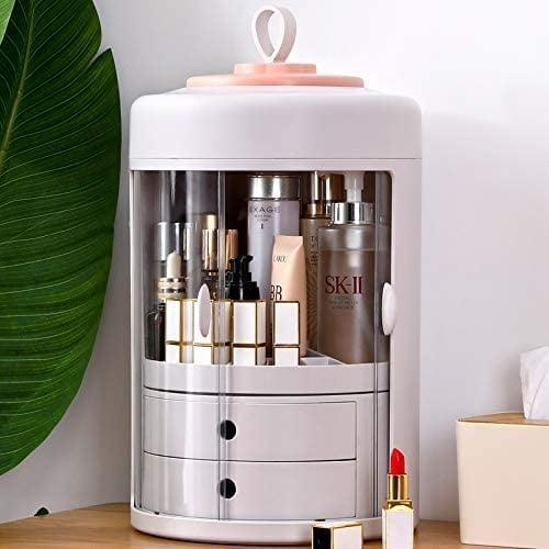 <p>Who says your beauty organizer solution has to be boring? Meet the <span>Purme Rotating Cosmetic Storage Box</span> ($65).</p>