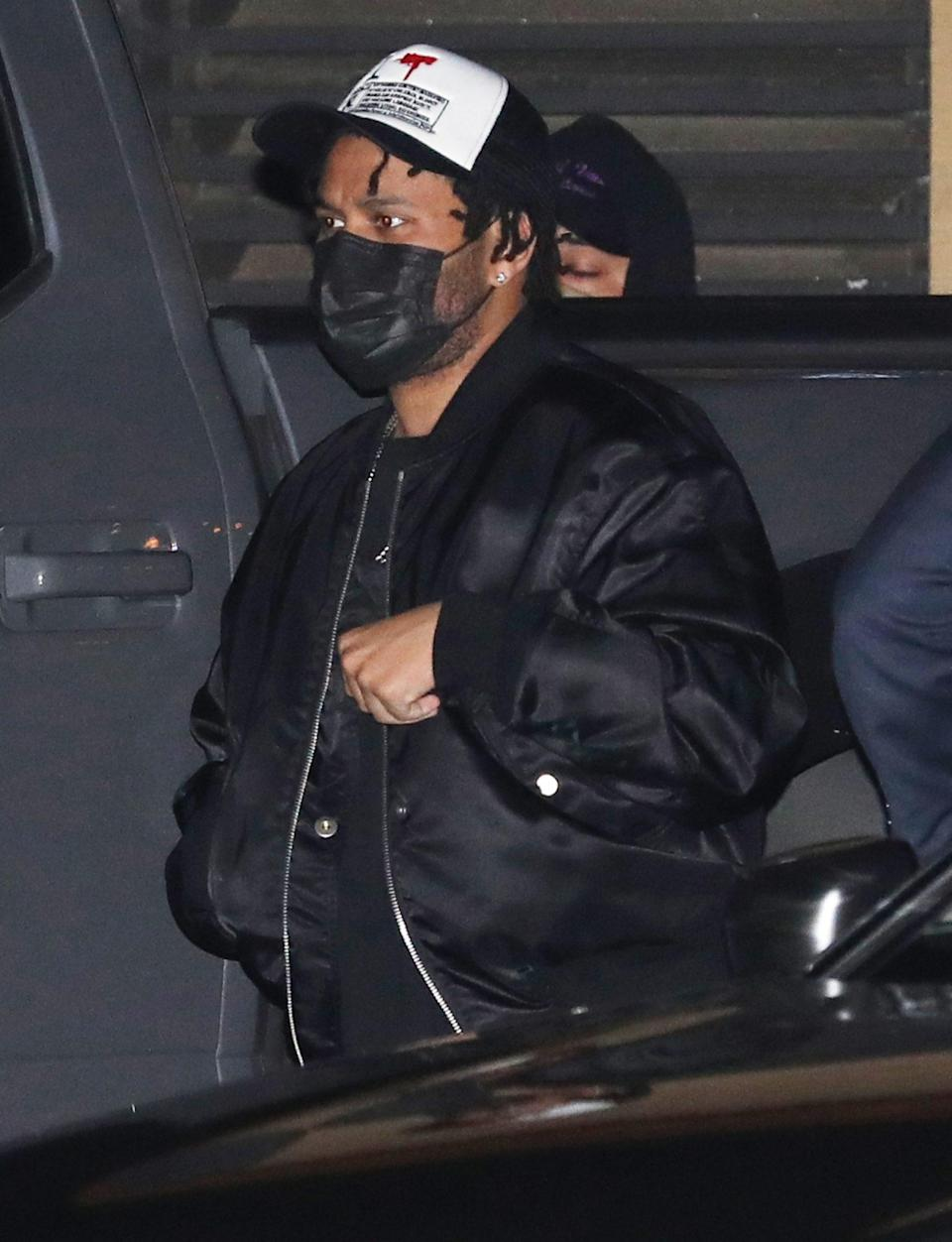 <p>The Weeknd heads to Nobu Malibu for dinner on Wednesday.</p>