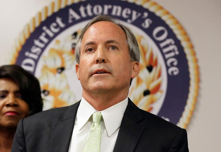 Texas Attorney General Ken Paxton won by a landslide in 2014. On Tuesday, he held onto his seat by 3.6 percentage points. (Photo: Associated Press)