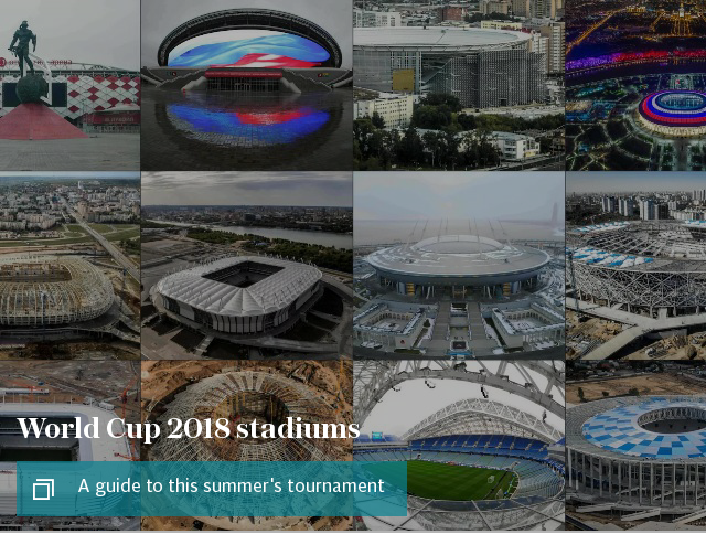 World Cup 2018 stadiums