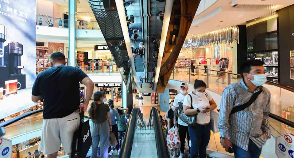 There has been a warning issued to shoppers at Bondi Junction Westfield. Source: Getty