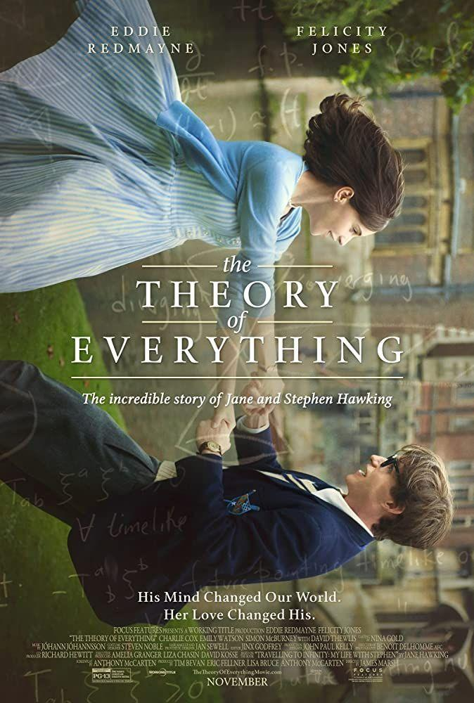 """<p>The life of Stephen Hawking was nothing short of extraordinary. This biopic based on his ex-wife's memoir describes Hawking's relationship, diagnosis with ALS, and the inspiring work that blew the universe wide open.</p><p><a class=""""link rapid-noclick-resp"""" href=""""https://www.netflix.com/title/80000644"""" rel=""""nofollow noopener"""" target=""""_blank"""" data-ylk=""""slk:Watch Here"""">Watch Here</a></p>"""