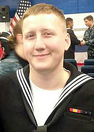 Interior Communications Electrician 3rd Class Logan Stephen Palmer, 23, from Decatur, Illinois who was stationed aboard the USS John S. McCain when it collided with a merchant vessel in waters near Singapore and Malayasia, August 21, 2017, is shown in this undated photo provided August 24, 2017.  U.S. Navy/Handout via REUTERS