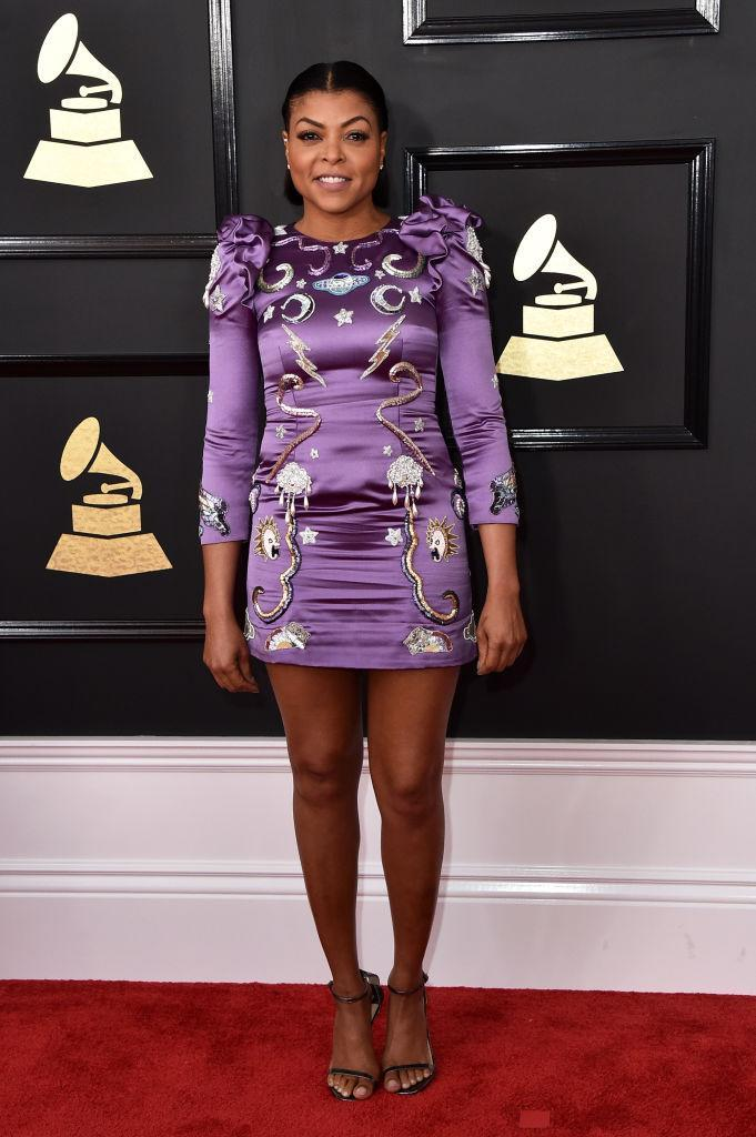 Taraji P. Henson in Marc Jacobs. (Photo: Getty Images)