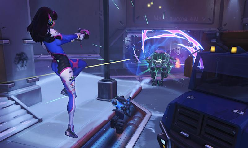 That sick D.Va ult is going to have to be posted in the highlight thread (Blizzard)