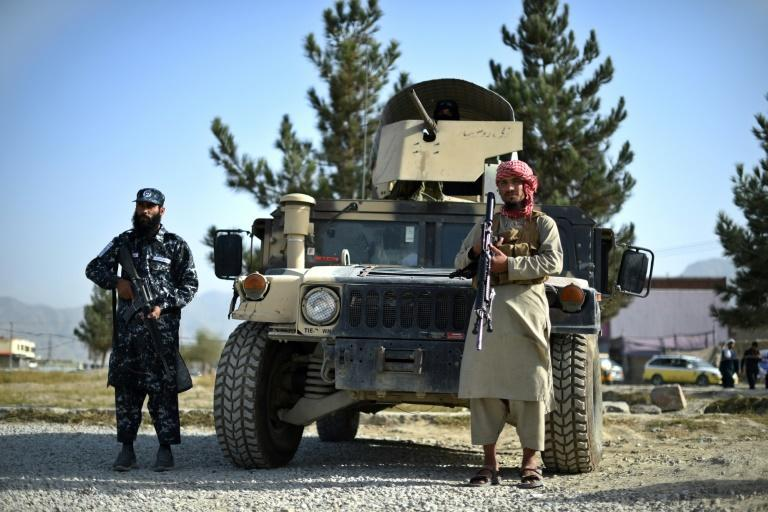 The Taliban promised stability in war-torn Afghanistan but their rule could be destabilised by IS-K (AFP/WAKIL KOHSAR)