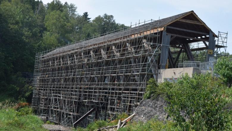 Transportation Department fined after covered bridge collapse