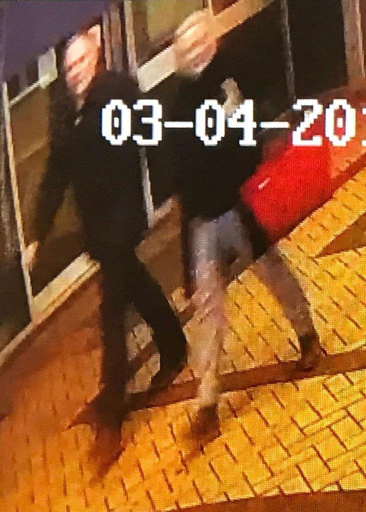This CCTV image was captured in Salisbury on Sunday (Picture: PA)