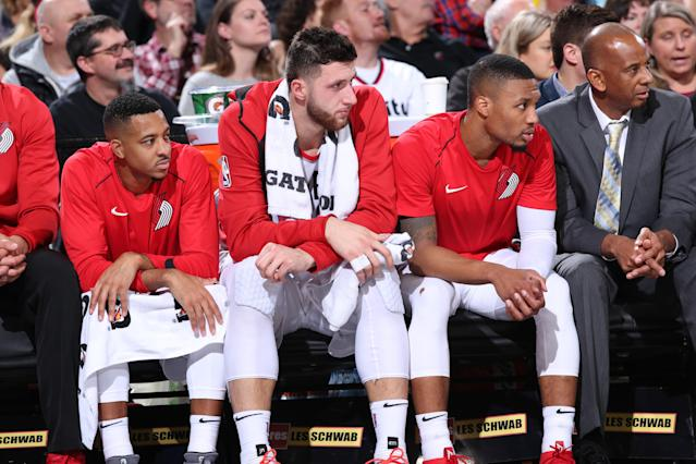 Yahoo Sports NBA insiders Chris Mannix and Brian Scalabrine look at the quick exit from the playoffs for Portland and debate whether or not the Blazers need to blow up their roster in order to improve.