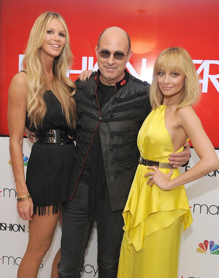 "Elle McPherson, John Varvatos, and Nicole Richie attend the ""<a target=""_blank"" href=""http://tv.yahoo.com/fashion-star/show/47285"">Fashion Star</a>"" celebration at Macy's Herald Square on March 13, 2012 in New York City."