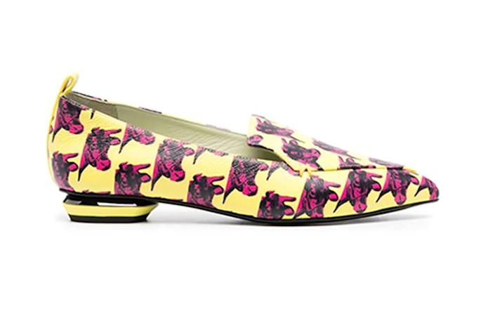 nicholas kirkwood x andy warhol, andy warhol shoes, year of the ox shoes