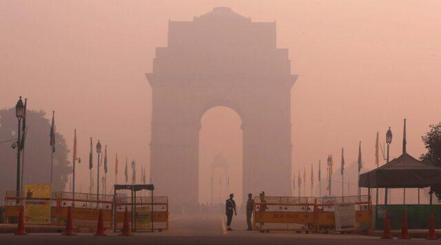 Air Quality Index in Delhi breached 858 ppm at some places in November 2019
