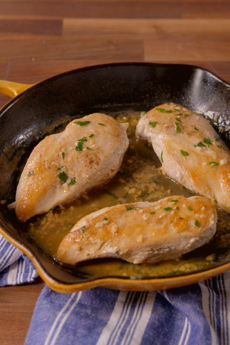 <p>Majorly upgrade chicken breasts with a creamy, Mexican cream sauce.</p><p>Get the recipe from <span>Delish</span>.</p>