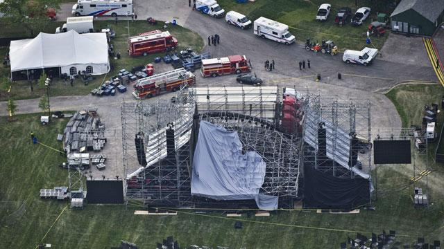 Stage Collapses Before Radiohead Concert, One Dead