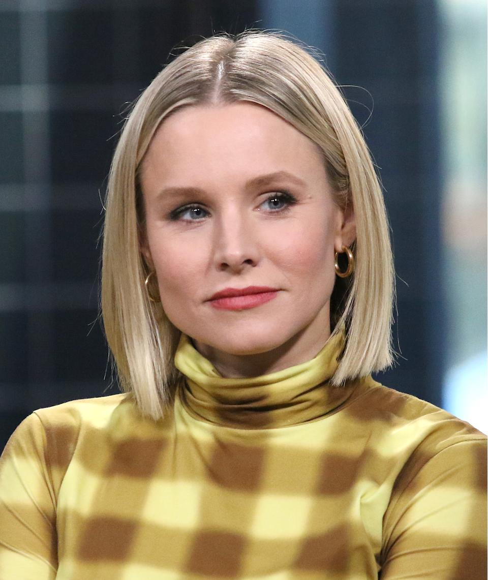 Kristen Bell attends the Build Series to discuss her product line Hello Bello at Build Studio on February 21, 2020 in New York City. (Photo by Jim Spellman/Getty Images)