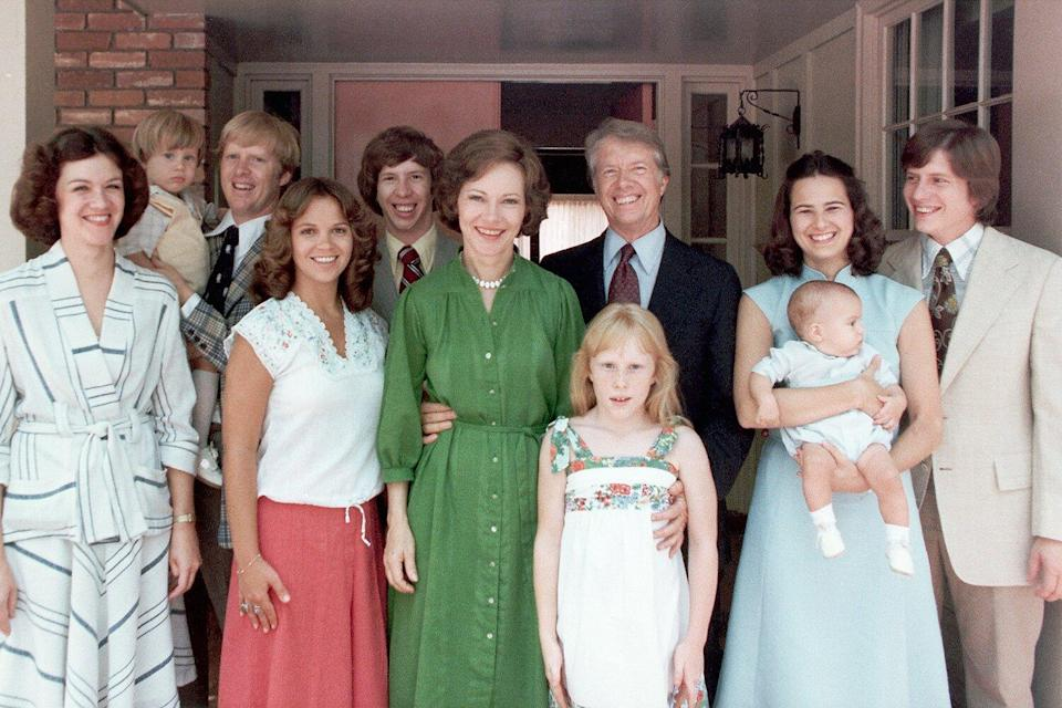 Jimmy Carter and his family