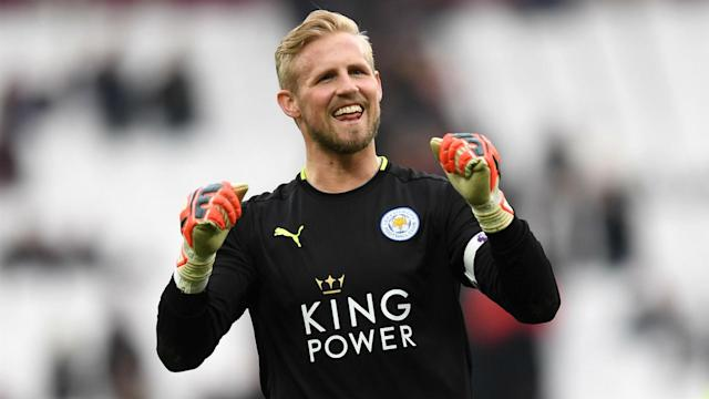 Kasper Schmeichel was in inspired form for Leicester City, as they held off West Ham's late pressure to win and Craig Shakespeare took note.