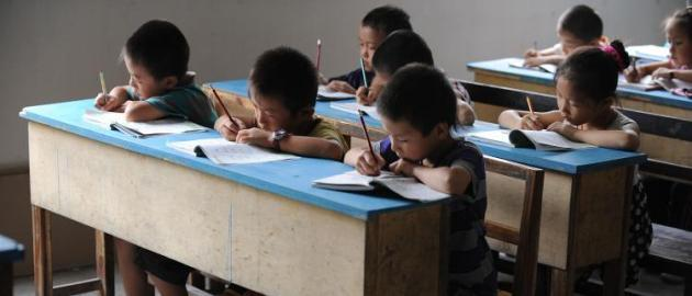 China school kids. Photo: AFP/Getty Images