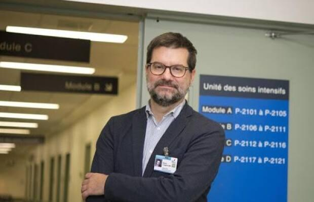 Dr. Alexis Turgeon, a critical care physician at the CHU de Québec–Université Laval, says the hospital is seeing younger COVID-19 patients in the ICU due to the rapid transmission of variants.