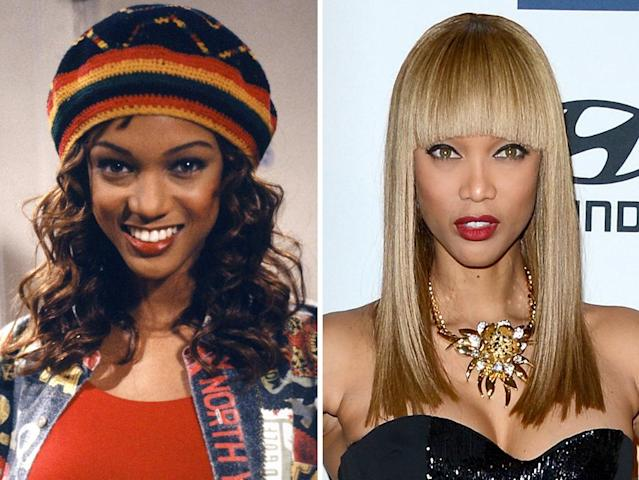 "<strong>Tyra Banks</strong><br><br><strong>Played:</strong> Jackie Ames, Will's ex-girlfriend<br><br><strong>Now:</strong> A world-famous model for Victoria's Secret and Sports Illustrated, Banks took on her first acting gig in ""Fresh Prince."" That was followed by stints on ""Felicity,"" ""Just Shoot Me,"" ""Coyote Ugly,"" and ""Gossip Girl."" These days, she's still executive-producing and hosting the popular reality series ""America's Next Top Model"" on The CW."