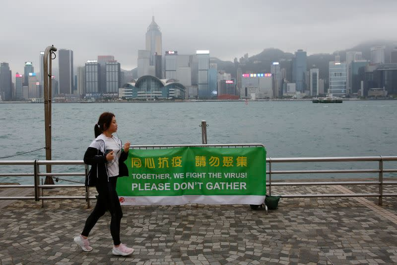 Hong Kong tourism chief pins hopes on recovery starting by July